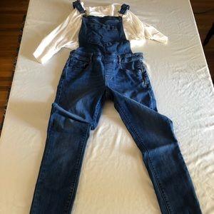 DARLING skinny overalls